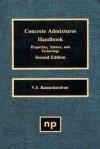 Concrete Admixtures Handbook, 2nd Ed.: Properties, Science and Technology - V.S. Ramachandran