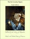 The De Coverley Papers - Joseph Addison