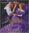 A Night to Surrender (Audible Audio) - Tessa Dare, Carolyn Morris
