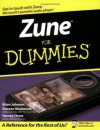 Zune For Dummies - Brian Johnson, Duncan Mackenzie, Harvey Chute