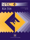 SPEC kit 316 : evaluating e-resources, July 2010 - Richard Bleiler, Jill Livingston