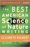 The Best American Science and Nature Writing 2009 - Elizabeth Kolbert, Tim Folger