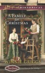 A Family for Christmas (Texas Grooms #3) - Winnie Griggs
