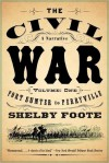 The Civil War, Vol. 1: Fort Sumter to Perryville - Shelby Foote