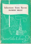 Selections from Byron - Hamish Miles