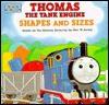 Thomas the Tank Engine Shapes and Sizes (Board Books) - Wilbert Awdry, Deborah Colvin Borgo