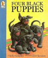 Four Black Puppies - Sally Grindley, Clive Scruton