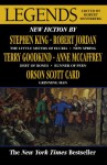 Legends - Stephen King, Robert Jordan, Robert Silverberg, Terry Goodkind