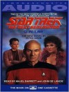 Star Trek Next Generation: Q In-Law (Audio) - Peter David, John de Lancie, Majel Barrett