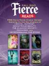 Fierce Reads Fall 2012 Chapter Sampler - Gennifer Albin, Caragh M. O'Brien, Elizabeth Fama, Lish McBride