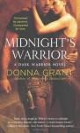 Midnight's Warrior (Dark Warriors) - Donna Grant