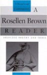 A Rosellen Brown Reader: Selected Poetry and Prose - Rosellen Brown