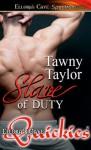 Slave of Duty - Tawny Taylor