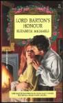 Lord Barton's Honour - Elizabeth Michaels