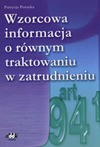 Wzorcowa informacja o równym traktowaniu w zatrudnieniu - Patrycja Potocka