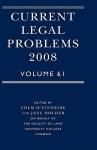 Current Legal Problems, Volume 61 - Colm O'Cinneide, Jane Holder