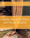 Othello Retold In Plain and Simple English: A Modern Translation and the Original Version - BookCaps, William Shakespeare