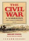 The Civil War: A Narrative, Vol 1, Fort Sumter to Perryville (Audiocd) - Shelby Foote