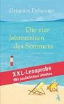 XXL-LESEPROBE: Delacourt - Die vier Jahreszeiten des Sommers - Grégoire Delacourt, Claudia Steinitz