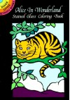 Alice in Wonderland Stained Glass Coloring Book (Dover Stained Glass Coloring Book) - Marty Noble