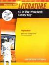 Prentice Hall Literature Grade 11 All-in-One Workbook Answer Key - Susan Power