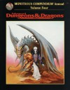 Monstrous Compendium Annual, Vol. 4 (Advanced Dungeons & Dragons Accessory, No. 2173) - Arnie Swekel