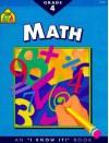 Math Basics Grade 4 (I Know It! Books) - Roberta Bannister, Joan Hoffman, Chris Cook, Louanne Winkler