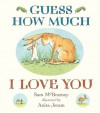 Guess How Much I Love You Padded Board Book (Board Book) - Sam McBratney, Anita Jeram