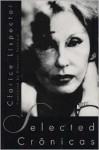 Selected Cronicas - Clarice Lispector, Giovanni Pontiero