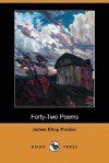 Forty-Two Poems (Dodo Press) - James Elroy Flecker
