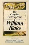 The Complete Poetry and Prose - David V. Erdman, William Blake, Harold Bloom