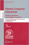 Human-Computer Interaction: Ambient, Ubiquitous and Intelligent Interaction - Julie A. Jacko