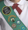 First Girl Scout: The Life of Juliette Gordon Low - Ginger Wadsworth
