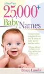 25,000 Baby Names - Bruce Lansky