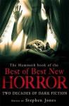 Mammoth Book Of The Best Of Best New Horror - Stephen Jones