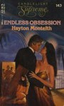 Endless Obsession (Candlelight Supreme, No 143) - Hayton Monteith