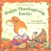 Happy Thanksgiving, Emily! - Claire Masurel, Susan Calitri
