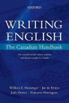 Writing English: The Canadian Handbook - William E. Messenger, Jan de Bruyn, Judy Brown, Ramona Montagnes