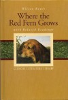 Glencoe Literature Library, Grade 7: Where the Red Fern Grows with Related Readings - Wilson Rawls