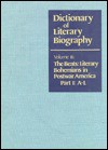 Beats: Literary Bohemians in Postwar America (Dictionary of Literary Biography) - Ann Charters