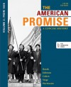Loose-leaf Version of The American Promise: A Concise History, Volume 2: From 1865 - James L. Roark, Michael P. Johnson, Patricia Cline Cohen, Sarah Stage, Susan M. Hartmann