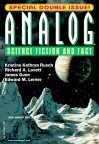 Analog Science Fiction and Fact, July/August 2011 - James Gunn, Kristine Kathryn Rusch, Anthony Lewis, Stanley Schmidt, Kyle Kirkland, Richard A. Lovett, Edward M. Lerner, Scott William Carter, Ernest Hogan, Don Sakers, C.W. Johnson, Kevin Walsh, Arlan Andrews Sr., John G. Cramer