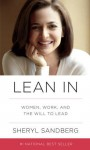 Lean In: Women, Work, and the Will to Lead (Audio) - Sheryl Sandberg