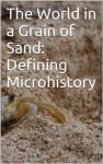 The World in a Grain of Sand: Defining Microhistory - Joe Aitken