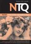 New Theatre Quarterly: Volume XX, Part 2 - Clive Barker, Simon Trussler, Maria Shevtsova