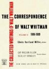 The Correspondence of Walt Whitman (Vol. 4) - Walt Whitman, Ron Miller, Eric Miller