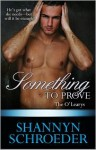 Something to Prove - Shannyn Schroeder