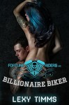 Billionaire Biker: Bad Boy Alpha Motorcycle Romance (Fortune Riders MC Series Book 1) - Lexy Timms, Book Cover by Design