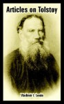 Articles on Tolstoy - Vladimir Lenin