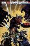 Transformers Vs Gi Joe #6 Subscription Variant Cover - Tom Scioli